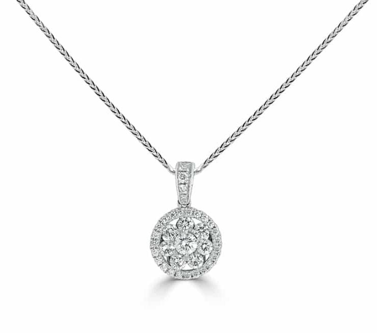 Diamond Pendants - DP248 - GN Designer Jewellers