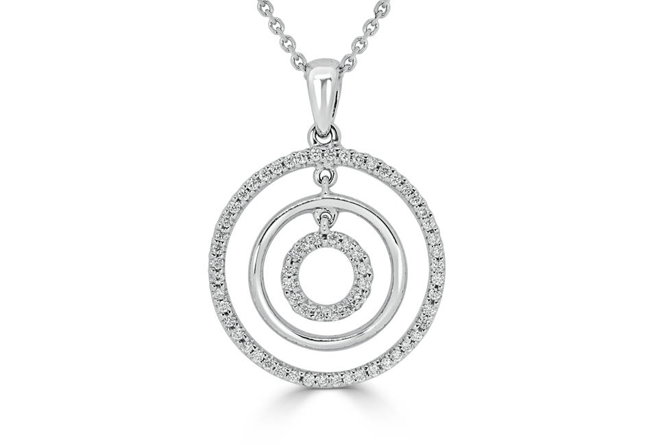 Diamond Pendants - DP278 - GN Designer Jewellers