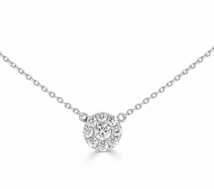 Diamond Pendants - DP317 - GN Designer Jewellers