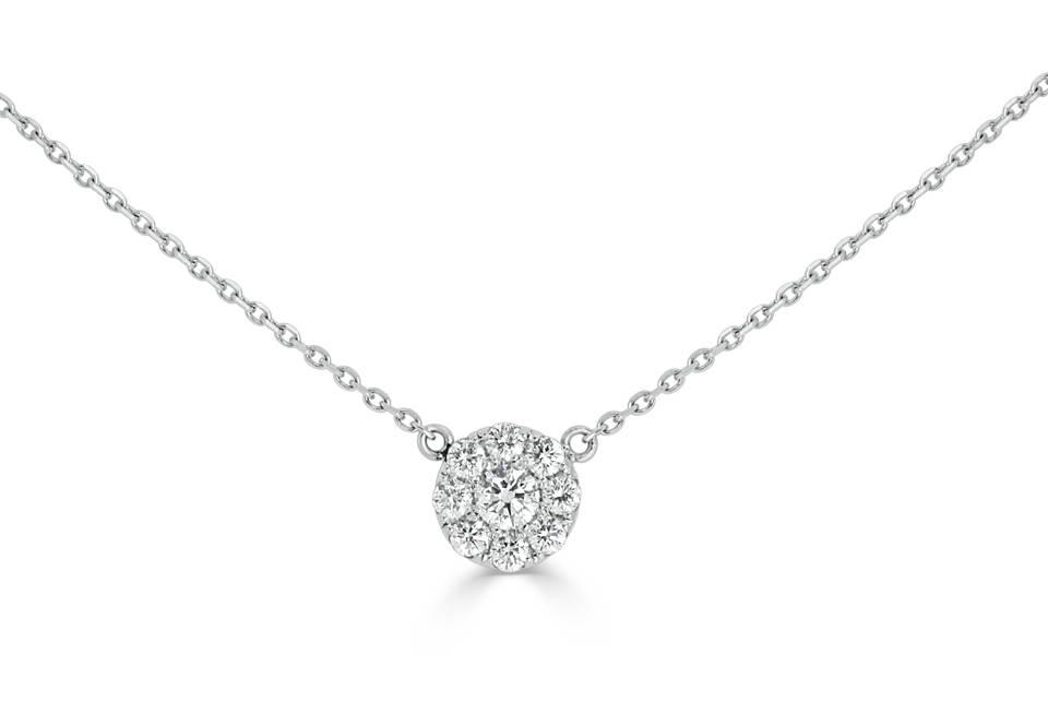 Diamond Pendants - DP317 - GN Designer Jewellers