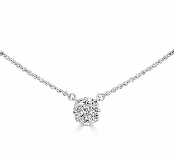 Diamond Pendants - DP318 - GN Designer Jewellers