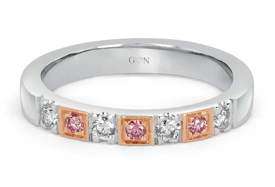 Ladies Halo Design Engagement Ring - R1175 - GN Designer Jewellers
